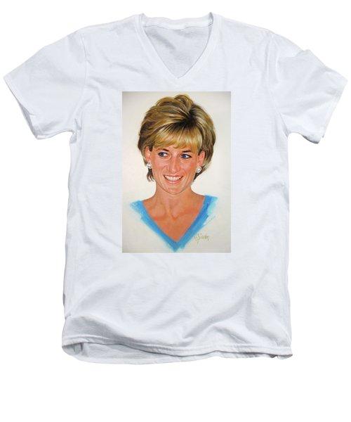 Princess Diana Men's V-Neck T-Shirt