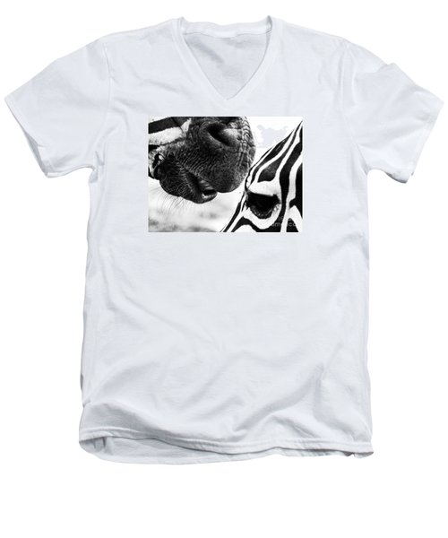 Men's V-Neck T-Shirt featuring the photograph Promises by Traci Cottingham