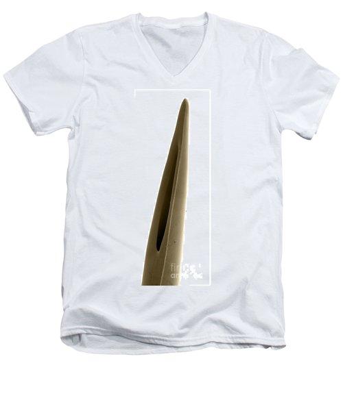 Rattlesnake Fang, Sem Men's V-Neck T-Shirt by Ted Kinsman