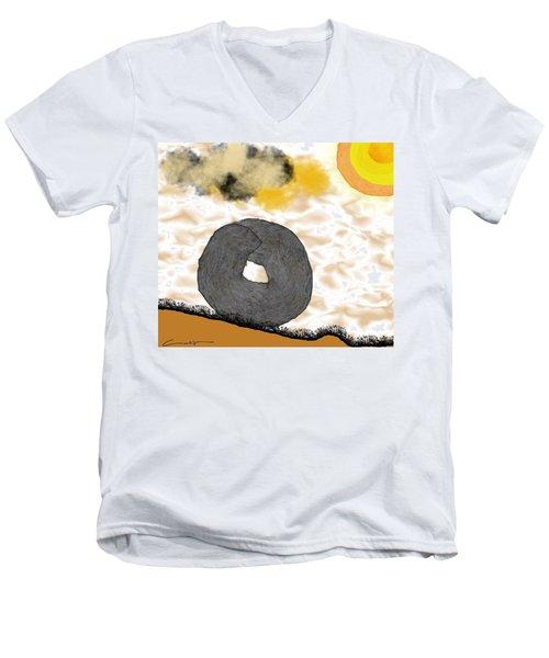 Rolling Home Men's V-Neck T-Shirt