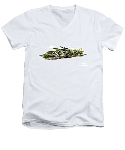 Rosemary Men's V-Neck T-Shirt