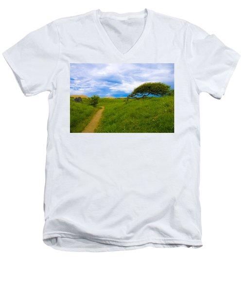 Rubjerg Path Men's V-Neck T-Shirt