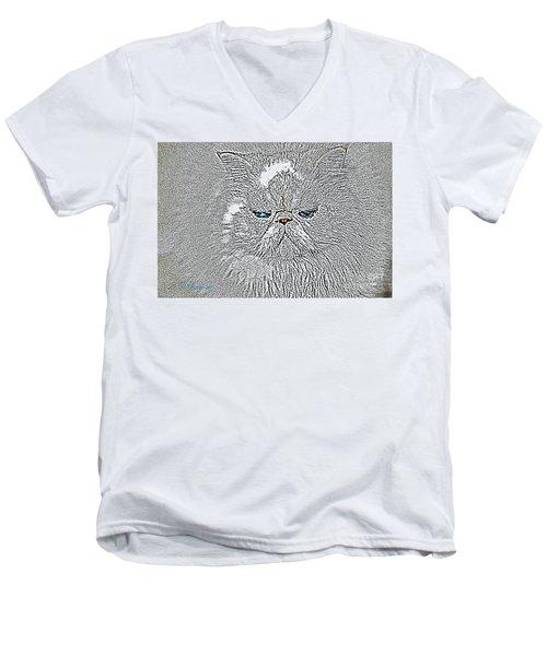 Sam I Am  Men's V-Neck T-Shirt