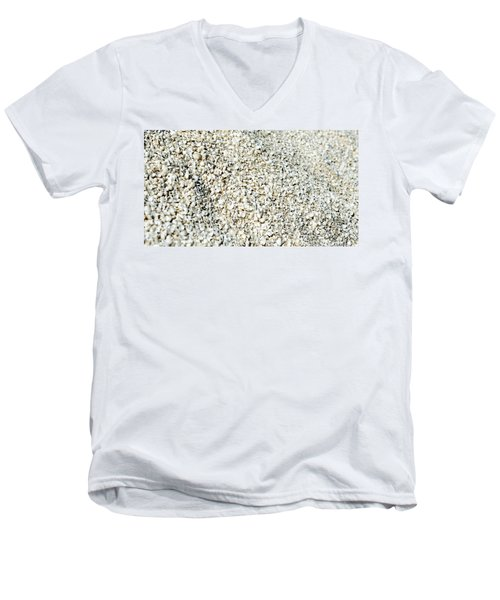 Men's V-Neck T-Shirt featuring the photograph Sea Shells by Yew Kwang
