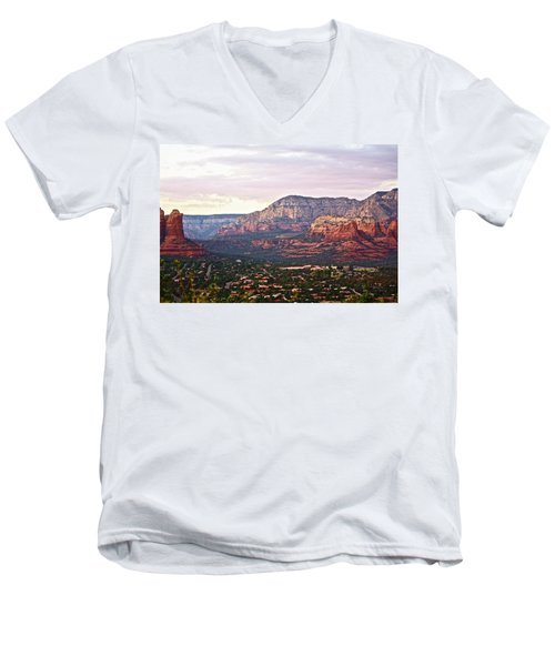 Sedona Evening Men's V-Neck T-Shirt
