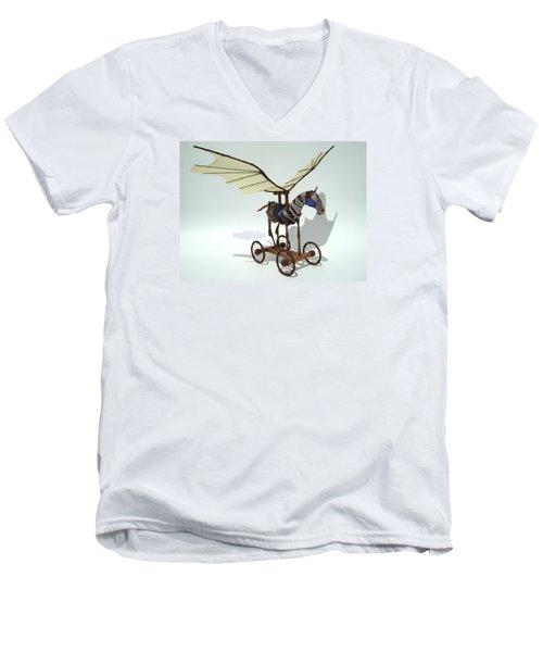 Silly Heart Men's V-Neck T-Shirt