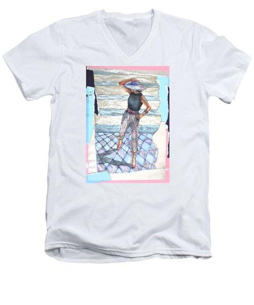 Siripparis Men's V-Neck T-Shirt