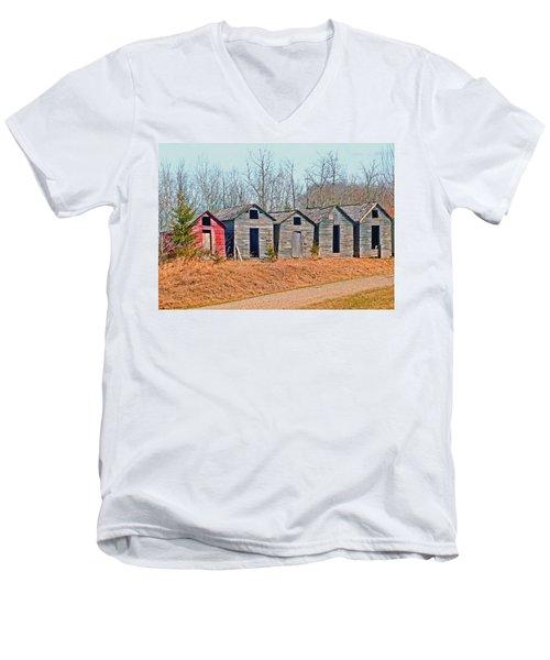 Smokehouse Row Men's V-Neck T-Shirt