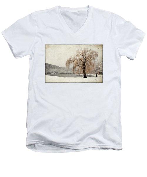 Snow Tree 1 Men's V-Neck T-Shirt