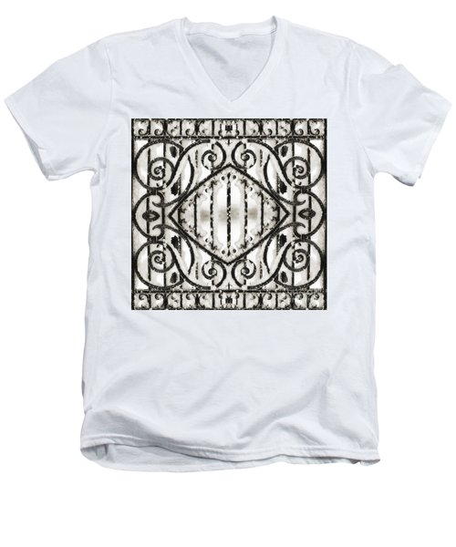 Snowy Forms Men's V-Neck T-Shirt