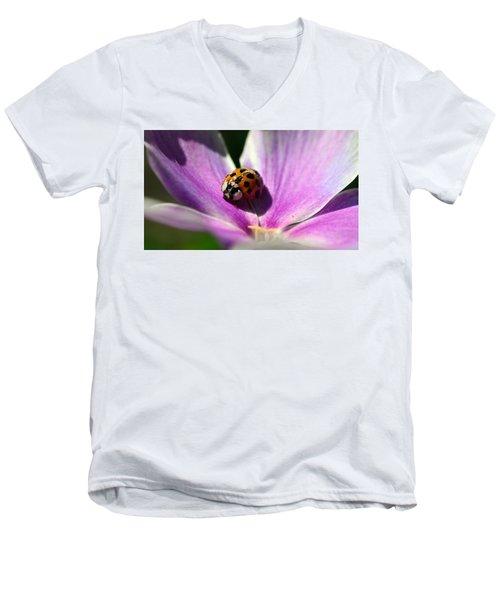 Spotted Lady Men's V-Neck T-Shirt