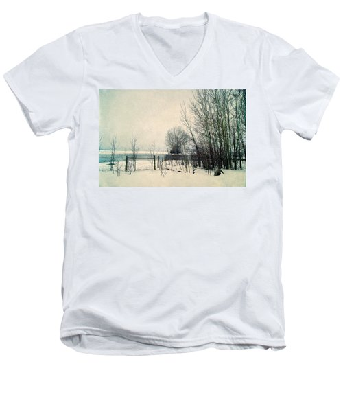 Spring Thaw Men's V-Neck T-Shirt