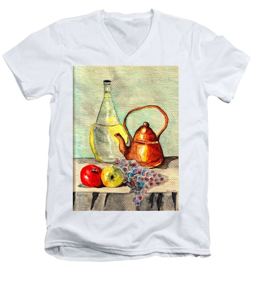 Still Life Men's V-Neck T-Shirt