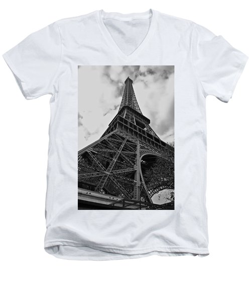 Men's V-Neck T-Shirt featuring the photograph Still Standing by Eric Tressler