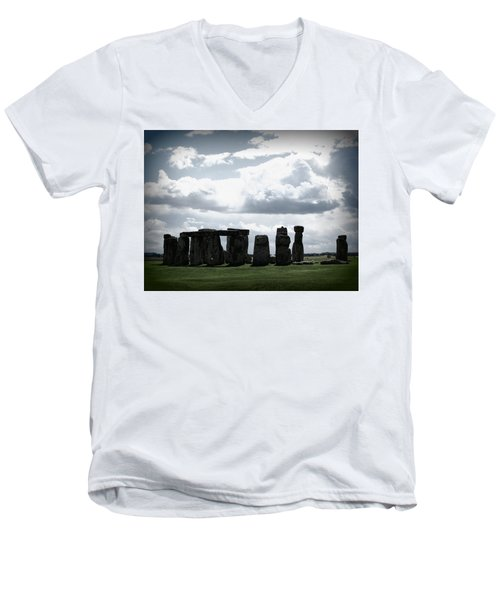 Stonehenge Men's V-Neck T-Shirt