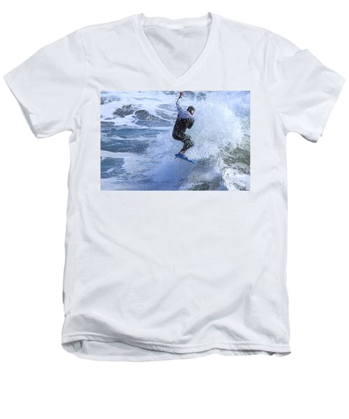 Surfer Men's V-Neck T-Shirt