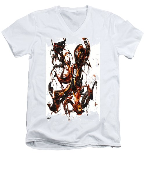 The Art Of Languishing Liquidly Well  22.120110 Men's V-Neck T-Shirt