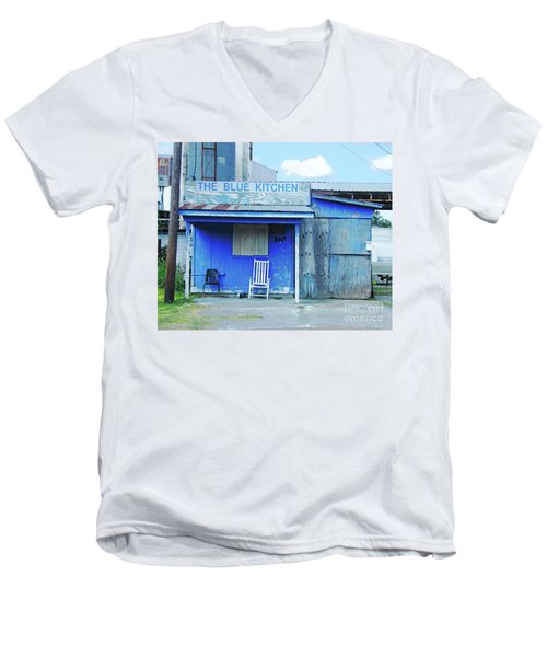 The Blue Kitchen Men's V-Neck T-Shirt