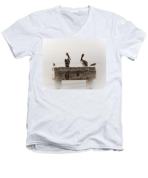 The Comedians Men's V-Neck T-Shirt