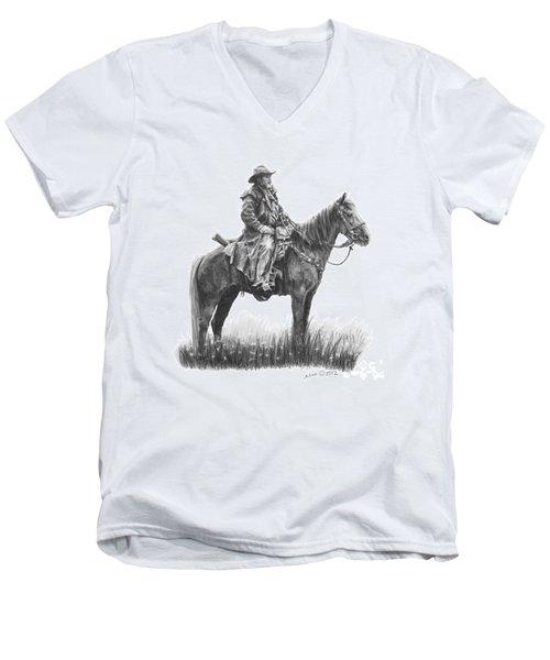 the Quest Men's V-Neck T-Shirt