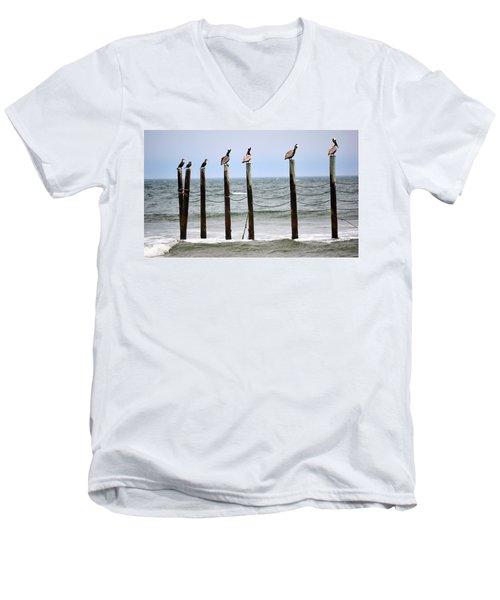 The Watchers Men's V-Neck T-Shirt