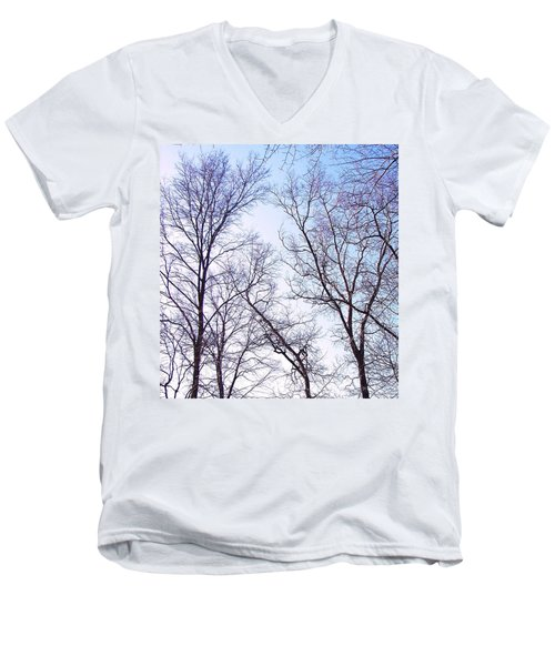 Men's V-Neck T-Shirt featuring the photograph Through To Heaven by Pamela Hyde Wilson