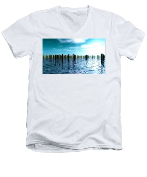 Tide Is Out... Men's V-Neck T-Shirt