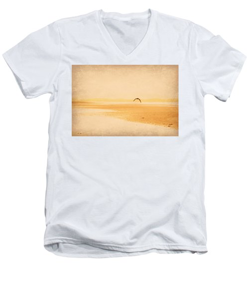 Men's V-Neck T-Shirt featuring the photograph Tranquillity by Marilyn Wilson