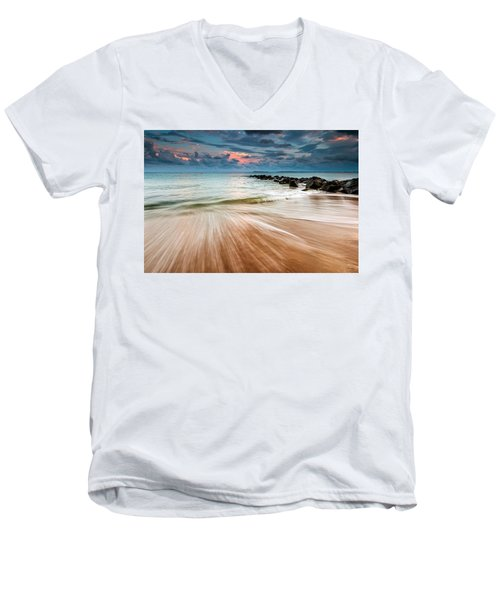 Tropic Sky Men's V-Neck T-Shirt