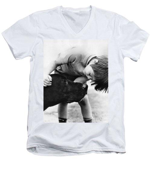 Unconditional Love Men's V-Neck T-Shirt