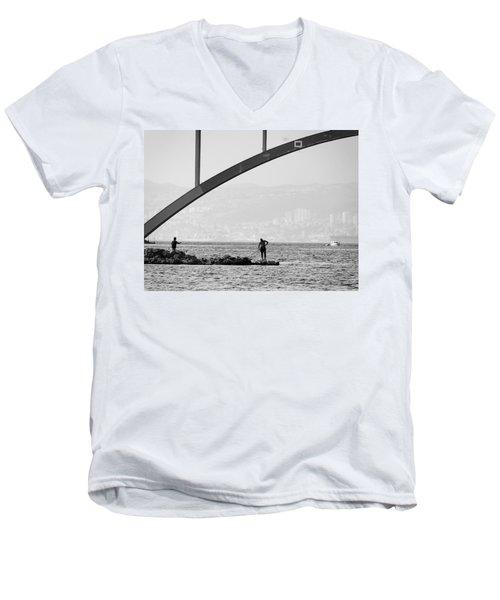 Under The Bridge 2 Men's V-Neck T-Shirt
