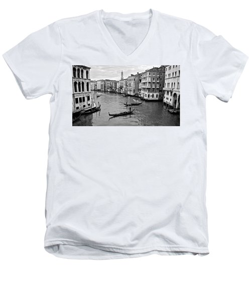 Men's V-Neck T-Shirt featuring the photograph Venezia by Eric Tressler