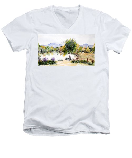 View Outside Reno Men's V-Neck T-Shirt