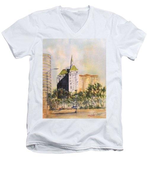 Villa Riviera  Men's V-Neck T-Shirt