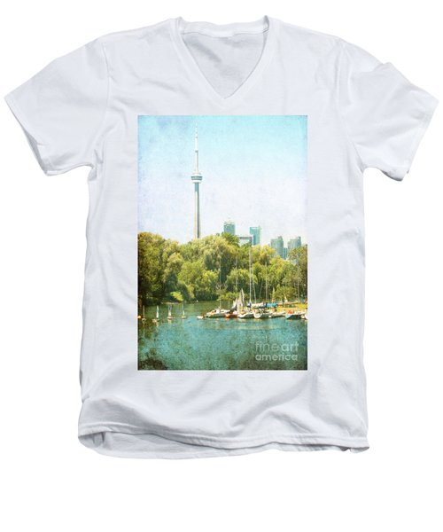 Vintage Toronto Men's V-Neck T-Shirt