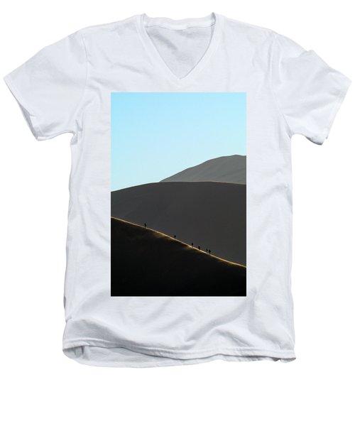 Walk The Edge Men's V-Neck T-Shirt