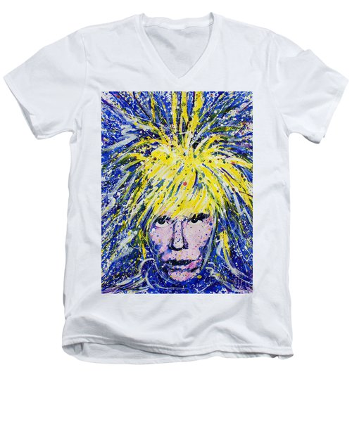 Warhol II Men's V-Neck T-Shirt