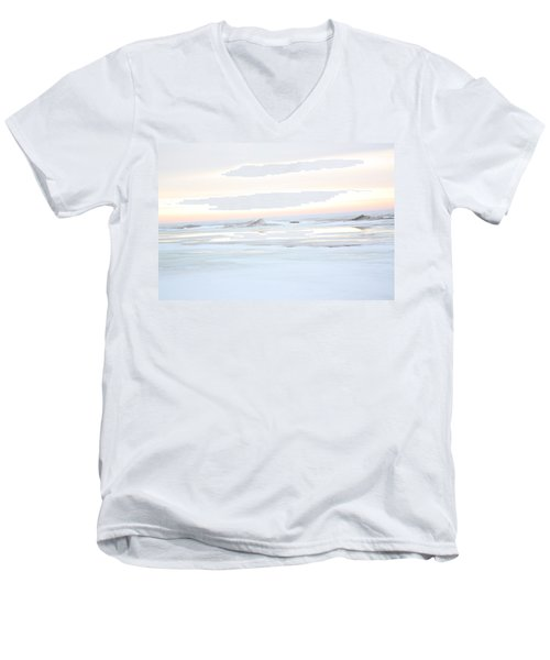 Winters Bright Light Men's V-Neck T-Shirt