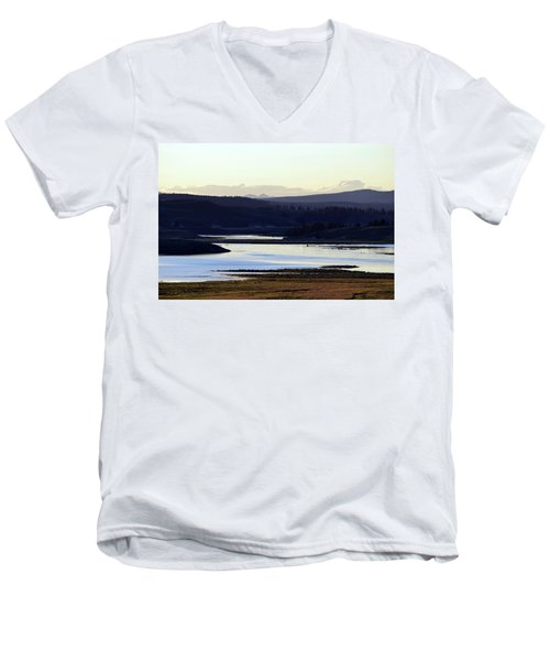 Yellowstone Landscapes Men's V-Neck T-Shirt