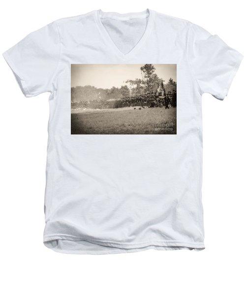 Gettysburg Union Infantry 9968s Men's V-Neck T-Shirt