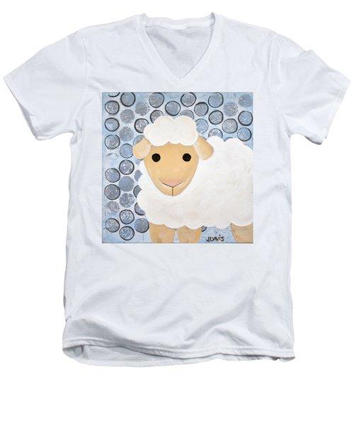 The Blessing Of The Lamb Men's V-Neck T-Shirt