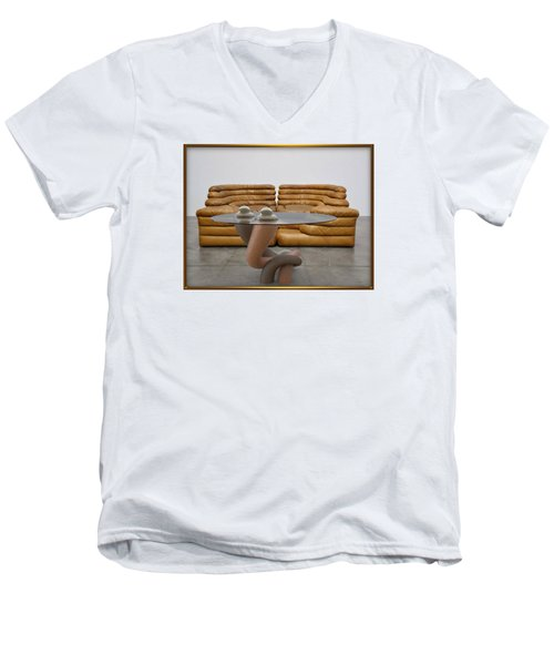 ' Lonely No More ' Men's V-Neck T-Shirt