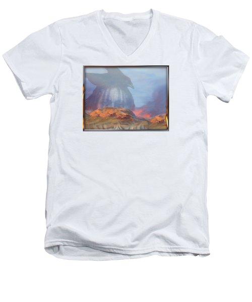 ' Old Fire Eyes Returns ' Men's V-Neck T-Shirt