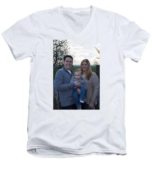 001 Men's V-Neck T-Shirt