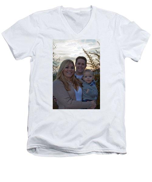 010 Men's V-Neck T-Shirt