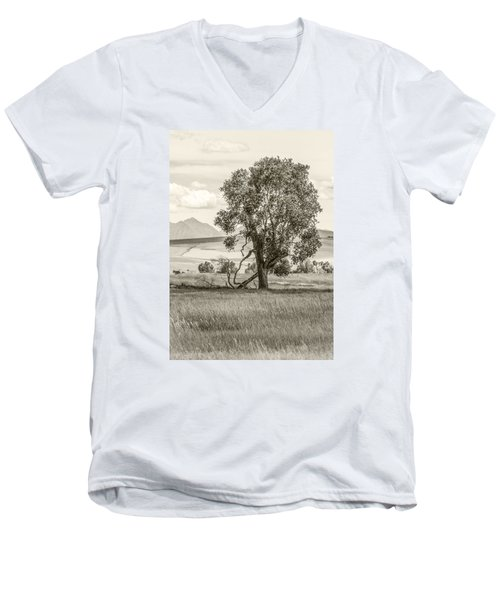 #0552 - Southwest Montana Men's V-Neck T-Shirt