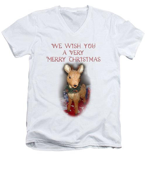 A Very Merry Christmas Men's V-Neck T-Shirt