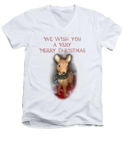 A Very Merry Christmas Men's V-Neck T-Shirt