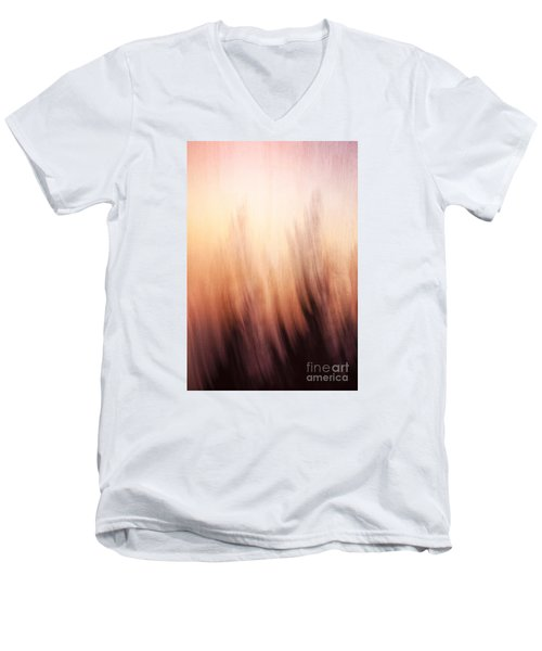 Abstract Grunge Background Men's V-Neck T-Shirt
