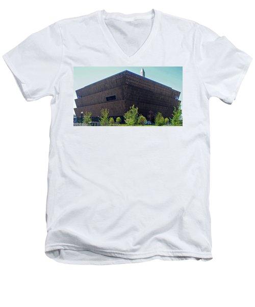 African American Museum 1 Men's V-Neck T-Shirt